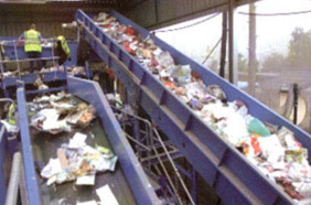 waste management services-recycling